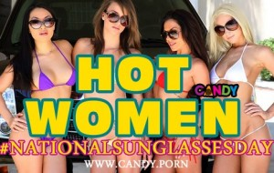 Hot Women Celebrate #NationalSunglassesDay