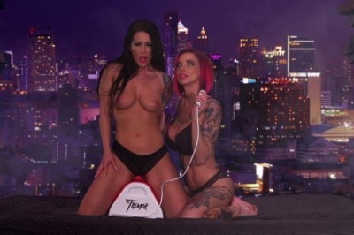 Exclusive: Anna Bell Peaks & Katrina Jade ride The Tremor