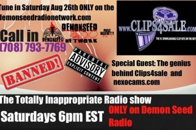 The Totally Inappropriate Radio Show Welcomes Clips4Sale Owner Neil