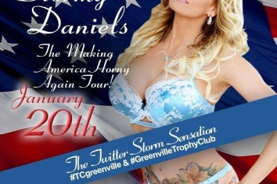 Stormy Daniels in Greenville, SC