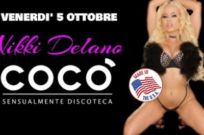Nikki Delano Goes International with Four Incredible Feature Shows in Italy