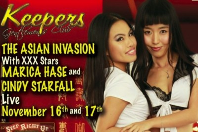 Marica Hase & Cindy Starfall Are Playing for Keeps with New Asian Invasion Feature This Weekend