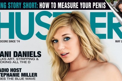Hayden Hawkens, Dani Daniels Featured in May Issue of Hustler