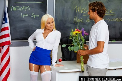 Nikki Delano's New Naughty America Scene Will Have You Hot for Teacher