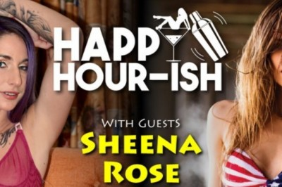 Sheena Rose Guesting on EXXXOTICA.tv's Happy Hour-ish Tomorrow