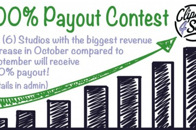 Clips4Sale Has Treats Up for Grabs with October 100% Payout Contest