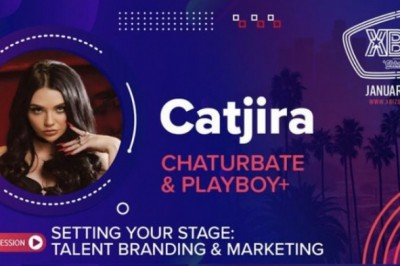 Catjira Set to Be on XBIZ Panel for Branding & Marketing